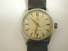 Super 1950s ROLEX TUDOR OYSTER Stainless Steel Gents Wrist Watch Working Order