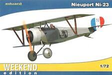 Nieuport ni-23 (imperial rusa Af marcas) 1/72 Eduard