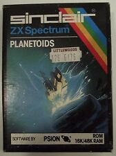 Planetoids - ZX Spectrum ROM CARTRIDGE - Psion - TESTED