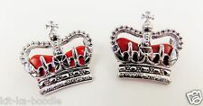 Obsolete Chrome Police Queens Crown Superintendent Rank Badges Film Theatre QC2