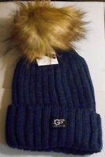 UGG Ladies Ski Hat  - navy blue - new  clearence