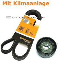 V-ribbed belts + Tension pulley for VW POLO ( 9N ) 1.4 / 1.9 TDI NEW