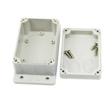 "NEW Waterproof Plastic Electronic Project Box Enclosure 3.94"" x2.68"" x1.97"" Case"