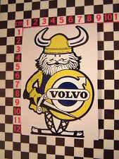 Viking Aufkleber -Klassisch Volvo P1800 Amazon 142 144 145 122 P1900 121S 123GT