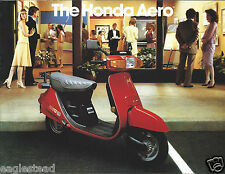 Motorcycle Brochure - Honda - Aero 80 50 - 1983 - Scooter  (DC429)