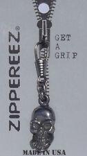 Biker Zipper Pull - Skull -  G010801  --