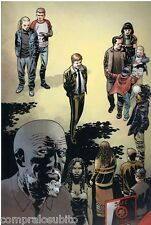 THE WALKING DEAD Stampa n.4 cartoncino cm. 28,5 x 43,5