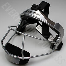 NEW Champro The Grill Softball Fielders Mask Adult - Silver