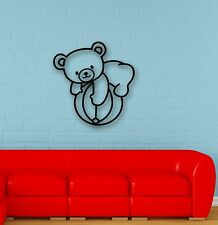 Wall Stickers Vinyl Decal Teddy Bear Ball Game Baby Kids Room Nursery (ig663)
