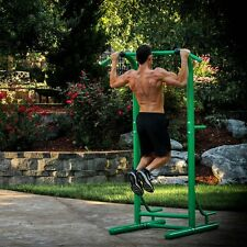 Stamina Outdoor Fitness Power Tower, Green