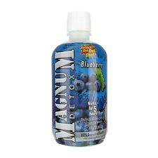 Magnum Detox 1 Hour Cleanse Drink- Blueberry 32 oz - FREE 2-3 DAY S&H
