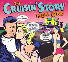 THE CRUISIN' STORY 1955-1960 - 75 ORIGINAL RECORDINGS  (NEW SEALED 3CD)
