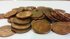 FULL ROLL 2002 P MAGNETIC CANADA ONE CENT PENNIES CIRCULATED