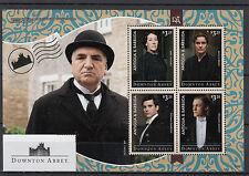 Antigua & Barbuda 2014 MNH Downton Abbey 4v M/S Carson Thomas Barrow Stamps