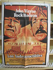 24         LOS INDESTRUCTIBLES JOHN WAYNE ROCK HUDSON