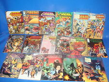 Lote de Image comics-17 numeros  FREAK FORCE y THE SAVAGE DRAGON-BLOOD AND CUTS