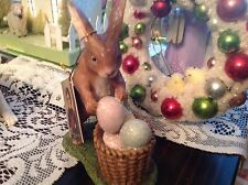 Bethany Lowe Easter Rabbit With Easter Eggs