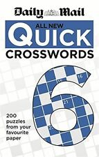 Daily Mail All New Quick Crosswords 6 (The Daily Mail Puzzle - 0600629465