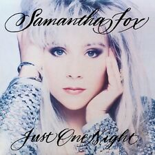 Just One Night: Deluxe Edition - Samantha Fox (2012, CD NEUF)2 DISC SET