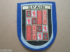 Spain Woven Cloth Patch Badge