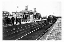 pt6567 - Marsh Gibbon & Poundon Railway Station , Buckinghamshire - photo 6x4
