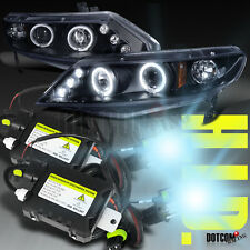 SLIM HID+2006-2011 CIVIC 4DR PROJECTOR HEADLIGHTS BLACK