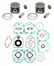 2004-2005 SKI-DOO REV 600 HO *SPI PISTONS,BEARINGS,FULL GASKET KIT CRANK SEALS*