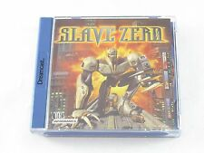 Sega Dreamcast Slave Zero Never Played Collectible Condition New (Not Sealed)