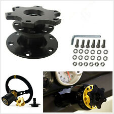 Durable Car Steering Wheel Bluck Quick Release HUB Racing Adapter Snap Off Boss