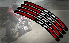 HONDA RACING CBR1000RR CBRR FIREBLADE MAG WHEEL RIMS LIP DECAL STICKERS