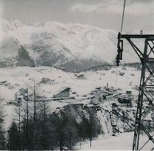 ST-ÉTIENNE-DE-TINÉE c. 1960 - Le village d' Auron Alpes-Maritimes - DIV 8861
