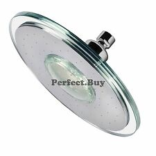 "9"" Circle Contemporary Circular Color Changing LED Rainfall Shower Style Head"