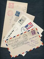 "(5) DIFFERENT FLIGHT COVERS & (1) UNDERSEA TEST RANGE ""AEGIR"" WITH CARD BQ7851"