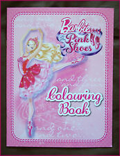 BARBIE in the PINK SHOES - Awesome COLOURING IN BOOK / Colour in Color BARBIES