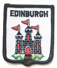 Edinburgh Castle Scotland Embroidered Patch (AO99)