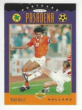 1994 Upper Deck World Cup Soccer -  Ruud Gullit - #306 - Postcard From Pasadena