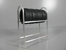 """Toy Scale 1/10"" Aluminum Tire Rack Tamiya HPI MST RC4WD RC Drift Tire Rim Wheel"