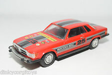 HONG KONG PLASTIC 907 MERCEDES BENZ 450 SLC 450SLC RED RALLY EXCELLENT FRICTION