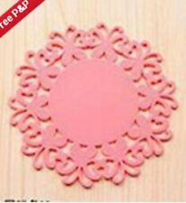 small Silicone Heat Insulation Coasters Mat Resistant Pad Non-Slip Cup--------