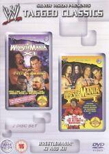 WWE Wrestlemania XI & XII 2 DVD Set orig WWF Wrestling