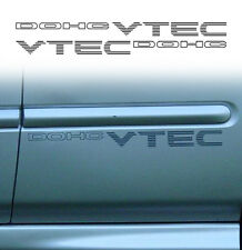 HONDA Civic DOHC Vtec Replacement Side decals stickers