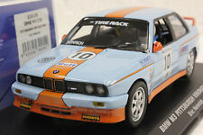 FLY 038106 GULF BMW M3 E30 PITTSBURGH VINTAGE 2007 NEW SLOT CAR 1/32 SLOT CAR
