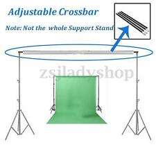 2.8M/9.2FT Photo Studio Adjustable Crossbar Background Backdrop Support Stand