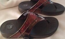 Sandals ladies size 6M EUR 37.5 new man made materials Montego Bay Club bronze