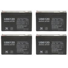 UPG 4 Pack - 6V 12AH F2 Para Systems-Minuteman BP24V20, BP48V10 UPS Battery
