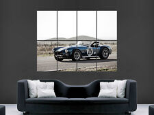 AC COBRA SPORTS CAR 1964 FORD SHELBY RACING IMAGE  LARGE WALL POSTER PICTURE