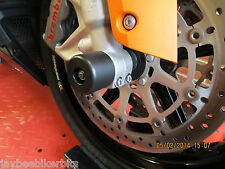 KTM RC8 RC8R CRASH MUSHROOMS FRONT & REAR AXLE SLIDER BUNG SLIDERS BOBBINS  S5O