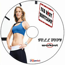 FULL BODY INTENSE WORKOUT FITNESS DVD-shred fat weight loss flat abs excercise