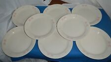 Corelle Dishes Blossoms In Lace Beige Bread n Butter Plates Set of 8. Retired