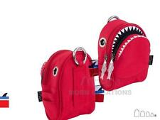 SHARK waist pack XS RED MORN CREATIONS pouch shoulder backpack jaws Great White